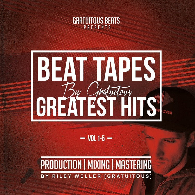 BEAT TAPES By GratuiTous GREATEST HITS Vol. 1-5