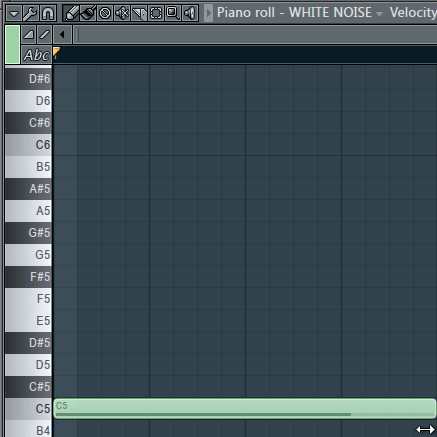 4 to 8 Bars of White Noise