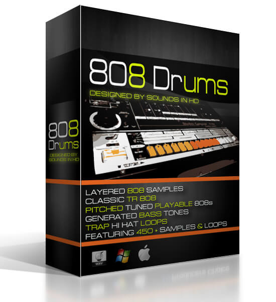 808 Drums by SoundsInHD – REVIEW