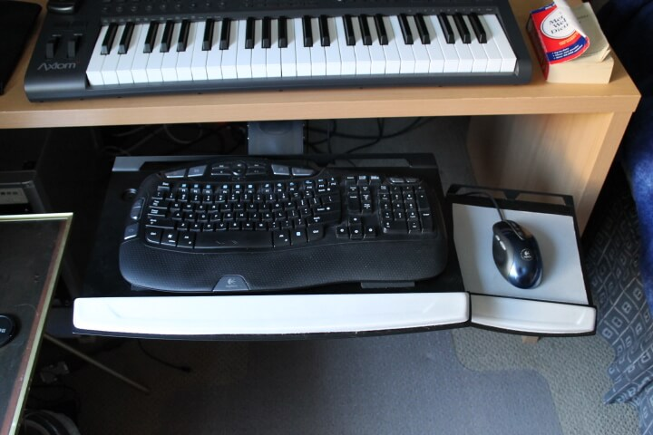 Adjustable Keyboard Tray Top