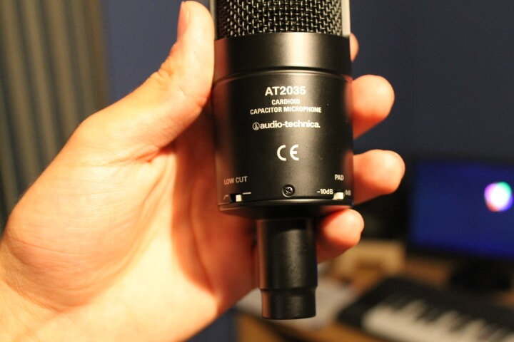 Audio Technica 2035 Back