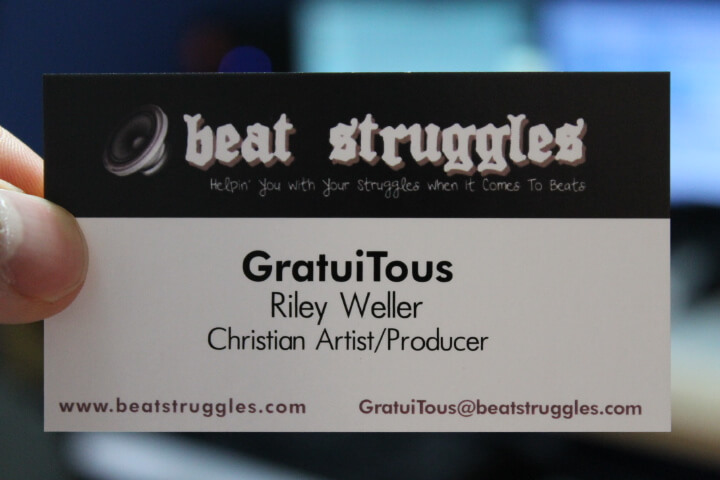 Beatstruggles Business Card