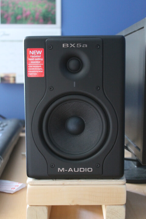 M-Audio's Bx5a Deluxe Speakers REVIEW