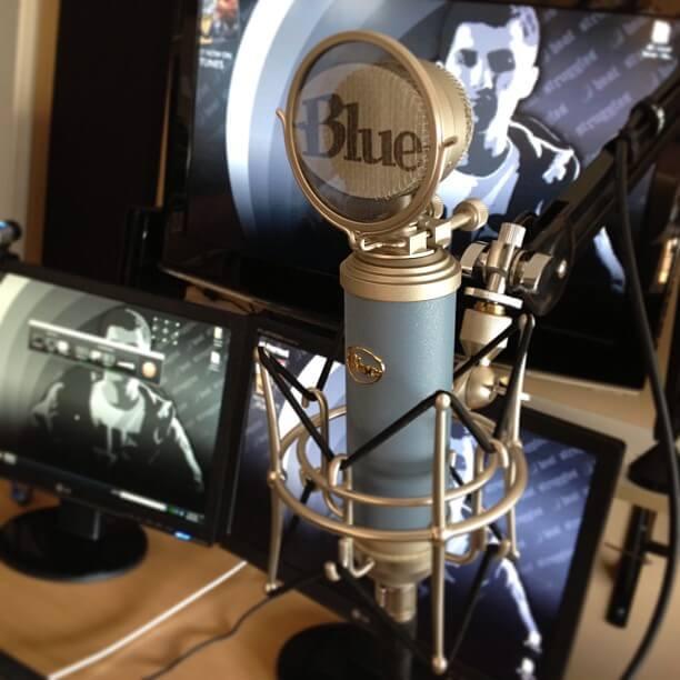 Blue BlueBird Condenser Microphone – Unboxing