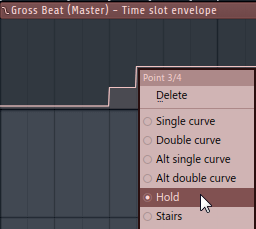 Gross Beat - Automation Clip - Hold Option
