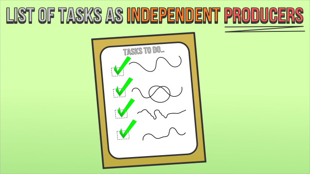 List of Tasks as Independent Producers
