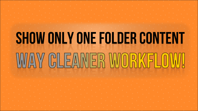 Show Only One Folder Content – FL Studio