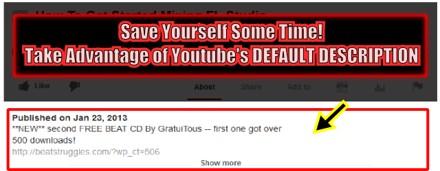 MARKETING ON YOUTUBE: Save Time!