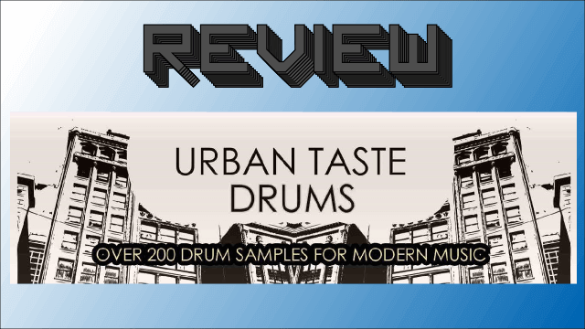 URBAN TASTE DRUMS Review – Red Sounds