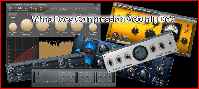 Using Compression: What Does Compression Actually Do?
