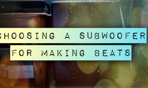 The Best Subwoofer for Music Production