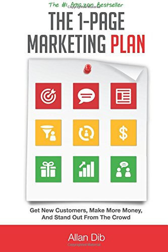 one page marketing plan by allan dib