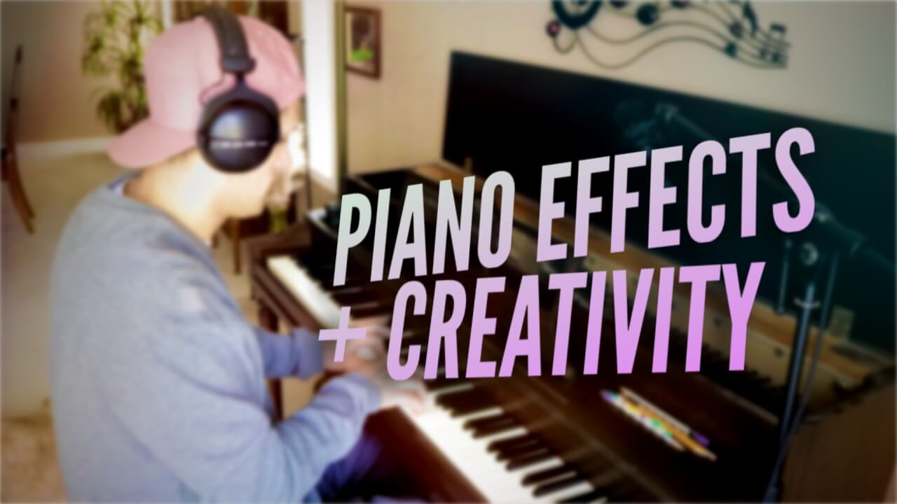 Piano Creativity with Mixer + Microphone