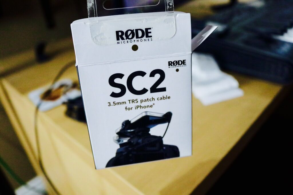 Rode SC2 Coiled Cable [Unboxing]