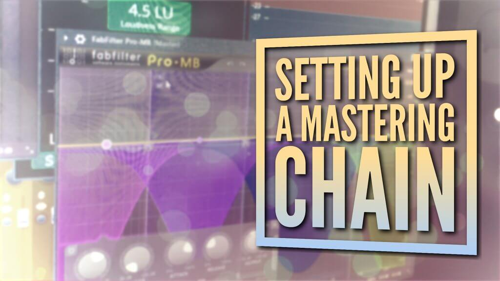 set up mastering plugin chain