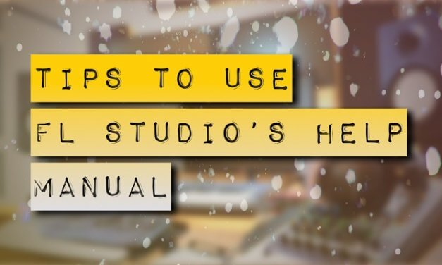 How to Use FL Studio's Help Manual