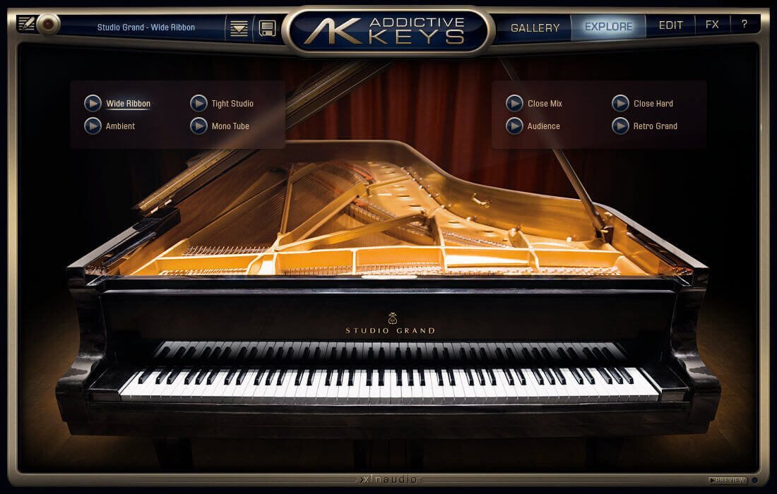 xln addictive keys